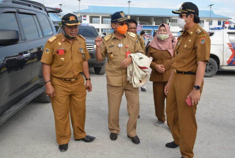 Safari Kerja, Bupati Banggai Sambut Gubernur Sulteng