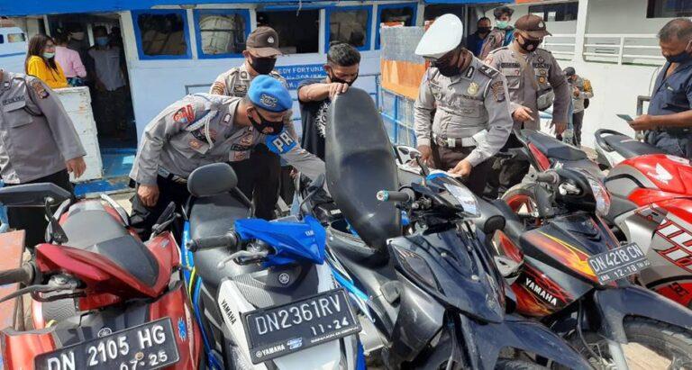 Polisi Persempit Ruang Gerak Pelaku Curanmor
