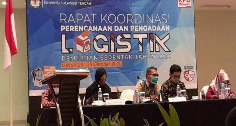 Rakor Perencanaan Logistik Dipusatkan di Luwuk