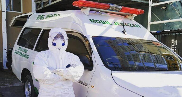 Kisah Sopir Ambulans Jenazah Covid-19, Sedih saat Makamkan Jenazah  tanpa Didampingi Keluarga