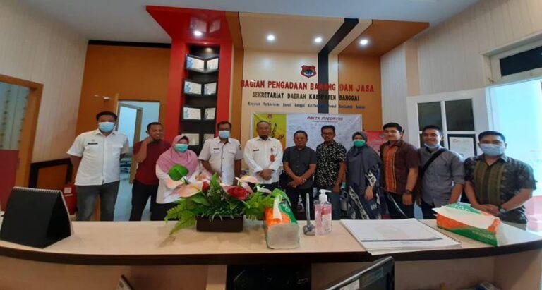 BPBJ Banggai Terima Kunjungan Stuban UKPBJ Kota Palu