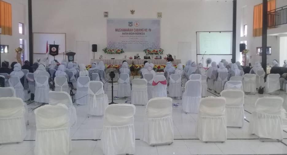 MUSCAB IBI BANGKEP: Kondisi Muscab IBI Bangkep yang digelar di gedung pertemuan Bappeda dan Litbang Bangkep, Senin (11/1/2020). [Foto : IBI Bangkep]
