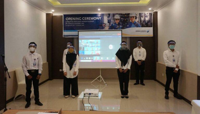 Enam Pemuda Banggai Ikut Program Pemagangan Operator DSLNG