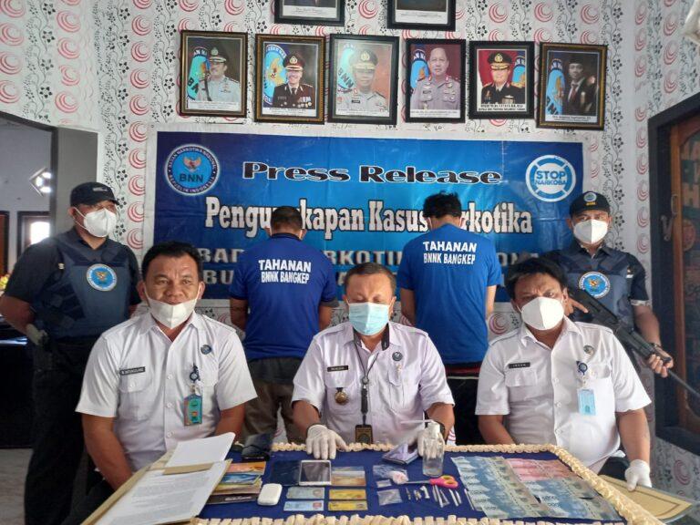 Oknum ASN Ditangkap BNNK Bangkep di Luwuk