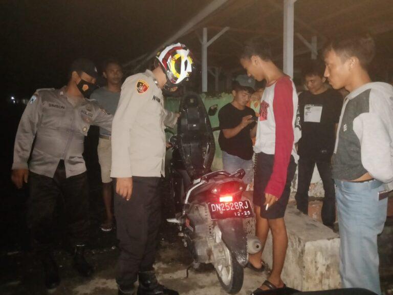 Polsek Balantak Rutin Lakukan Patroli Siang-Malam