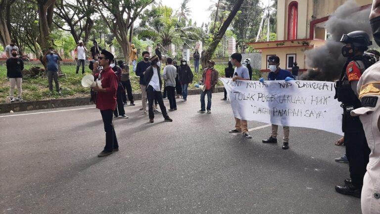 Kecewa Dengan Sikap Bupati, Front Rakyat Akan Gelar Aksi Lanjutan