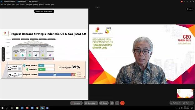 Hadapi Target 2022, SKK Migas Kumpulkan Pimpinan KKKS
