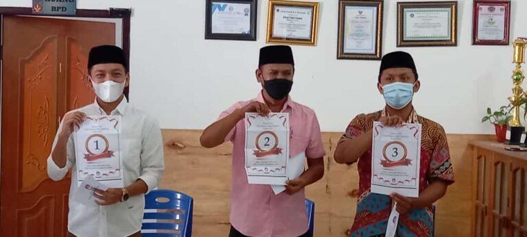 Panitia Pilkades Tountouan Tetapkan 3 Kandidat