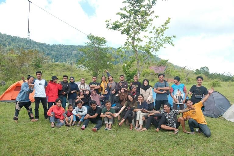 Beri Pendalaman Soal Konservasi, Progress Kumpulkan Puluhan Pemuda di Padang Bolaa