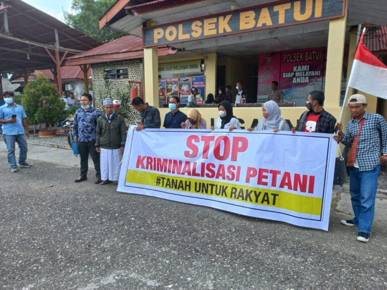 Terkait Dugaan Kriminalisasi Petani oleh Sawindo, Kepolisian Diminta Lebih Objektif